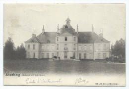 CPA - STOCKAY - Ch�teau de WARFUSEE   //