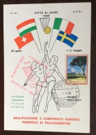 CAMPIONATO EUROPEO FEMMINILE PALLACANESTRO - UDINE 1966 - Basket-ball