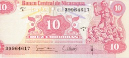 10 Cordobas 1979 NEUF - Nicaragua