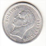VENEZUELA  1946 .1/2 REAL (UN CUARTO DE BOLIVAR) TIPO BOLIVAR NUEVA SIN CIRCULAR .  CN4235 - Venezuela