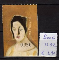 Finland 2006.Autoportrait. Painting.MNH. - Finland