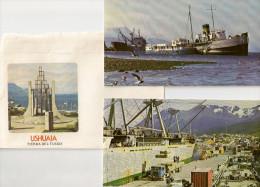 Carte De Bateau à Ushuaia Avec Enveloppe - Boats