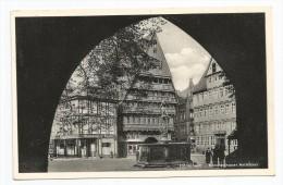 I2910 Hildesheim - Knochenhauer Amtshaus / Viaggiata 1957 - Hildesheim