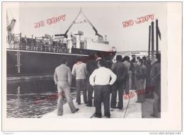 Au Plus Rapide Port De Marseille Navire Lamara Provenance Casablanca Un Jour De Blocus - Bateaux