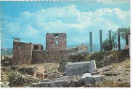 38451 - LEBANON RUINS OF BYBLOS POSTCARD UNUSED