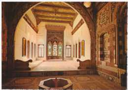 38460 - LEBANON BEIT-EDDINE RECEPTION OF THE PALACE    POSTCARD UNUSED