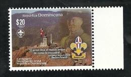 DOMINICAN REP. 2014 - Centenary Dominican Scouts - Repubblica Domenicana