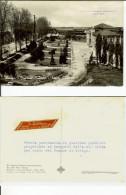 Rovigo: Giardini Pubblici - Scuole Elementari. Cartolina Pubblicitaria B/n FG Stab. Floreale Polesano A. Rizzi - Fleurop - Rovigo