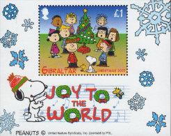 GIBRALTAR 2003 - Noël 2003, Sapin De Noël, Snoopy - BF Neufs // Mnh - Gibraltar