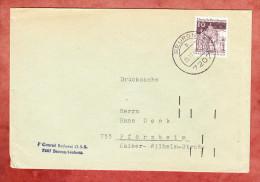 Brief, Dresden, Beuron Nach Pforzheim 1968 (75825) - Covers & Documents