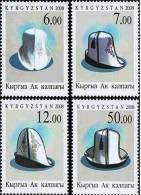 Kyrgyzstan 2008 Headdress 4v MNH - Kyrgyzstan