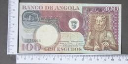 ANGOLA  100  ESCUDOS  1973     -    (Nº11387) - Angola