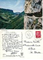 CPM Le VERCORS .38 .La Route Des Grands Goulets .1969. - Saint-Vérand
