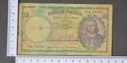 PORTUGAL  20  ESCUDOS  1959     -    (Nº11394) - Portugal