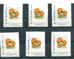 Collector Sauvons La Forêt Des Landes (o) Sur Fragment - Lot De 6 Timbres - Collectors
