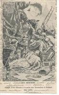 JEANNE D'ARC BLESSEE A LA PRISE DES TOURNELLES A ORLEANS - MAI 1430 ( Déssin: P. MEJANEL ) - Orleans