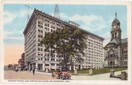 CPA Colorisée - Dupont Hotel And Office Building - Wilmington - Del - Non Classés