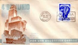 ARGENTINIEN 1948 - FDC Mit Sonderstempel - FDC