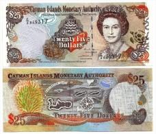 Cayman Islands 25 Dollars p-36 2006 UNC