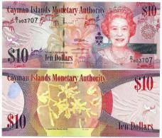 Cayman Islands10 Dollars p-40 2010 UNC