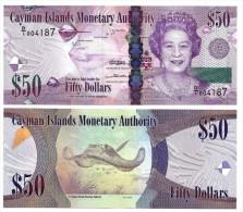 Cayman Islands50 Dollars p-42 2010 UNC