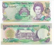Cayman Islands 50 Dollars p-32b 2003(2007) UNC