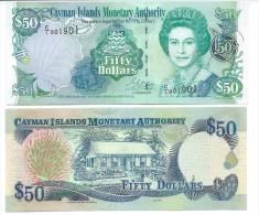 Cayman Islands50 Dollars p-29 2001 UNC