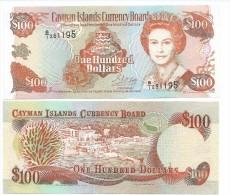 Cayman Islands 100 Dollars p-20 1996 UNC