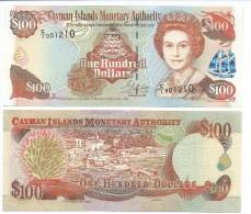Cayman Islands 100 Dollars p-25 1998 UNC