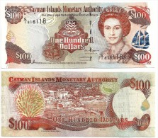 Cayman Islands100 Dollarsp-37 2006 UNC