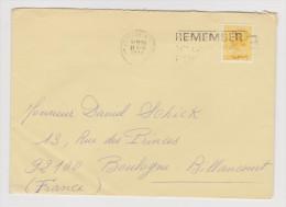 GRANDE BRETAGNE ENVELOPPE THE CARLTON POWER LONDON 17 APRIL 1978 VERS BOULOGNE BILLANCOURT FRANCE - 2 Scans - - 1952-.... (Elizabeth II)