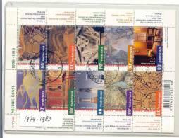 NEDERLAND *  1974 - 1983 * BLOK * NEDERLAND * NETHERLANDS * Utilise * BLOC BLOCK - Blokken