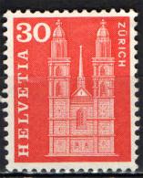 SVIZZERA - 1960 - CATTEDRALE DI ZURIGO - NUOVO MNH - Suisse