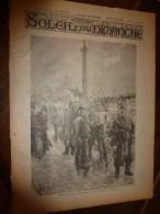 1896 SOLEIL Du DIMANCHE: Invasion Sauterelle En Algérie;La Tribu Des VI-RÂ-RI Au Mexique;Greffe Entre Serpents..etc - Astronomie