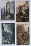 LOT DE 6 Cpa Du Dep 04 , Basses Alpes  : 5 Moustiers Sainte Marie Et 1  Gréoux Les Bains - Cartes Postales