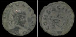 Divo Claudio AE Antoninianus Altar - 5. L'Anarchie Militaire (235 à 284)