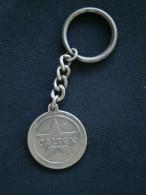 PORTE CLE CLEF (KEYCHAIN) METAL CALTEX LOCATION JAFFAR LE PORT Ile De La REUNION - Sleutelhangers