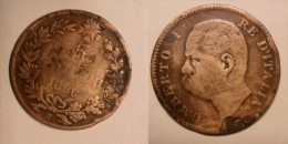 * 5 CENTESIMI DEL 1896 DEL REGNO D'ITALIA UMBERTO I° - RARA - - 1861-1946 : Regno