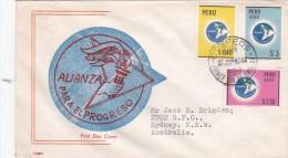 Peru 1964 Cove To Australia - Peru