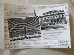 Italia -MILANO Aida Giuseppe Verdi -  Teatro Alla Scala   1959   D128749 - Milano (Milan)