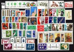 BULGARIA \ BULGARIE / BULGARIEN - 1968 - Annee Complete ** - Yv 1571 / 1646 + PA 109 + 4 BF 21 / 24 + Bl 23 Souv. - Timbres
