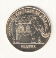 Monnaie De Paris 44.Nantes-Les Machines De L´ile N°1. 2010 - Monnaie De Paris