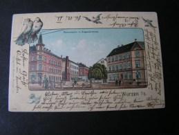 ==  Wurzen , Nach Rochlitz1907 - Wurzen