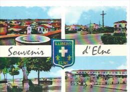 2258 - SOUVENIR D'ELNE ( 4 VUES - ECOLE ) - Elne