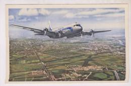 CPA DOUGLAS DC4 Sur AIR FRANCE - 1946-....: Moderne