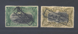 Congo Belge TX 27 et 30  * (MH)