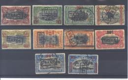 Congo Belge lot  mixte entre 50 et 62 * ou � (MH of used)