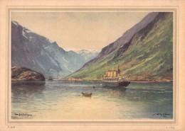 """HAPAG - PAQUEBOT : """" RELIANCE """" - FJORD Und POLARFAHRTEN - 1927 - NORWAY / SPITSBERGEN / SVALBARD (r-972) - Norway"""