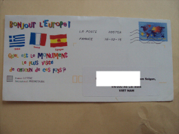 France French Postal Stationary Cover (2013) - France