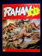 """Rare BD Bande Dessinée RAHAN N°7 """"La FLECHE BLANCHE"""" / """"Le COUTELAS D'IVOIRE"""" 1re Edition 1ère Série EO 1973 ! - Rahan"""